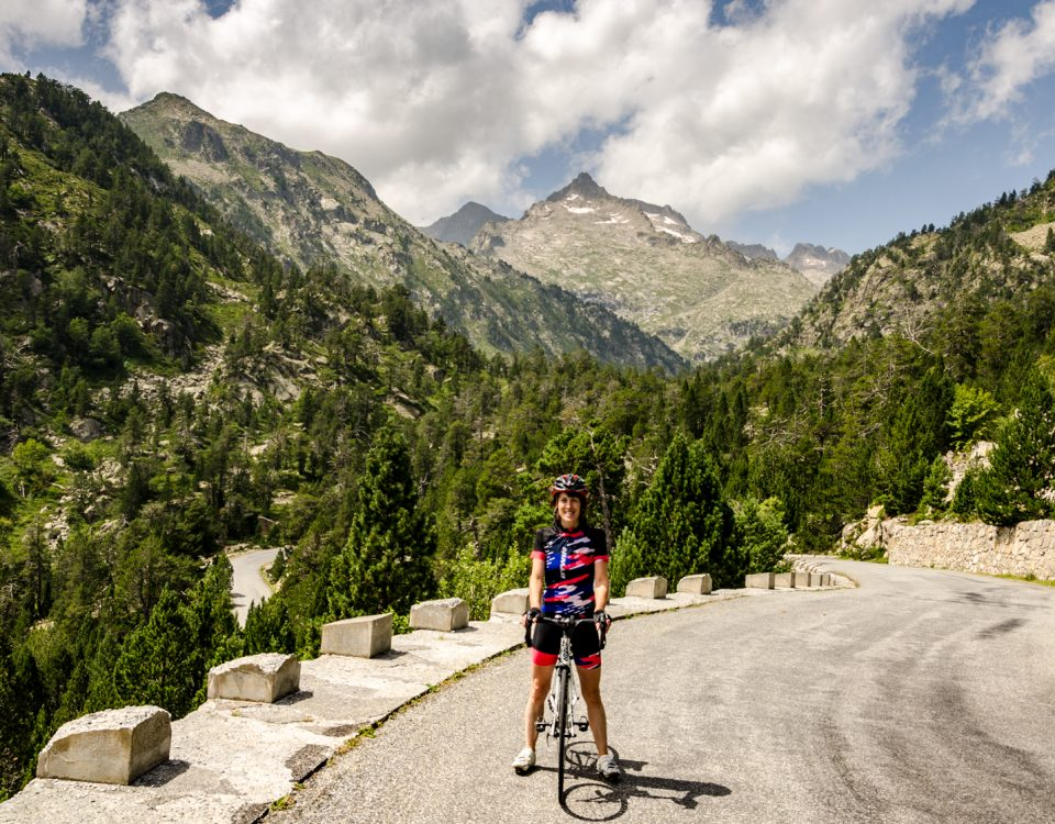 Niamh at Route Des Lacs Valllee d'Aure